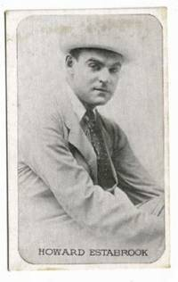image of A Vintage Kromo Gravure Photographic Trading Card of the Rounded Borders  Type of Screen Writer and Actor, Howard Estabrook