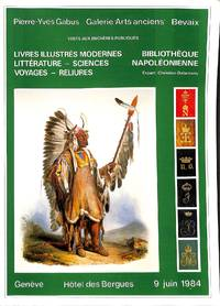 Vente 9 Juin 1984: Livres illustrés modernes - Littérature - Sciences -  Voyages -...