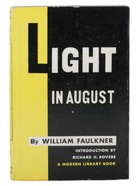 Light in August (The Modern Library of the World's Best Books, ML 88)