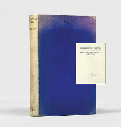 Selected Essays. 1917-1932.