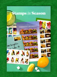 image of Stamps in Season (Stamp Services / United States Postal Service), Promotional Brochure from 2014. Philatelic Ephemera.