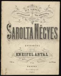Sarolta Négyes Zongorára ... 4ik. mű: ára 30 k.p.p.