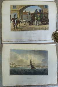 THE STRANGER IN FRANCE  Or, A Tour from Devonshire to Paris.  Illustrated by engravings in aqua tinta of sketches, taken on the spot.