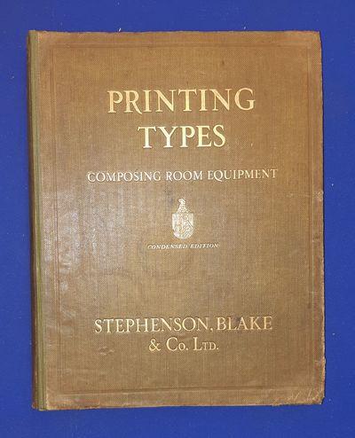 Printing Types, Borders, Initials,...