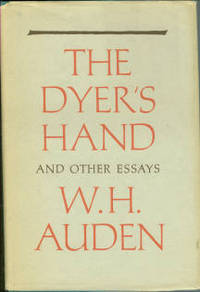 image of The Dyer's Hand And Other Essays