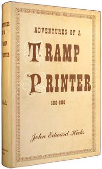 Adventures of a Tramp Printer, 1880-1890