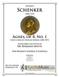 Agnes, Op. 8, No. 1