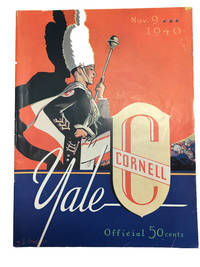 Official Program: Cornell Yale: Yale Bowl, Saturday, November 9, 1940