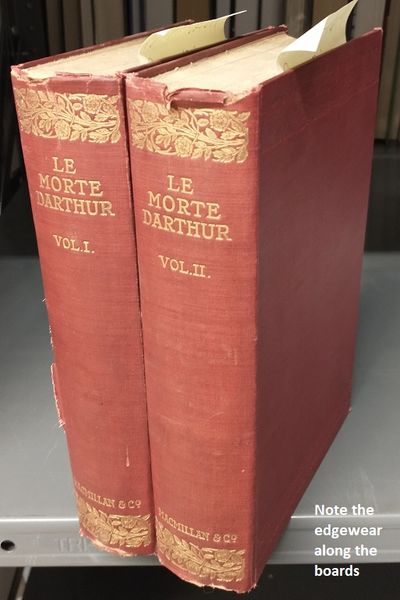 London: Macmillan and Co., Limited, 1900. Hardcover. Octavo; pp 439+531; G-; burgundy spines with gi...