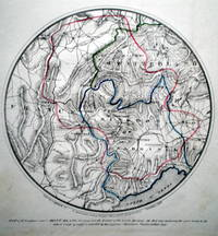 Map of 60 leagues round Mont Blanc