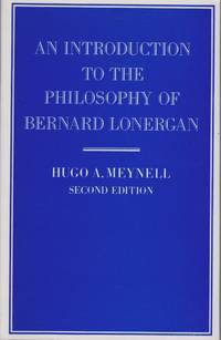 An Introduction To The Philosophy Of Bernard Lonergan