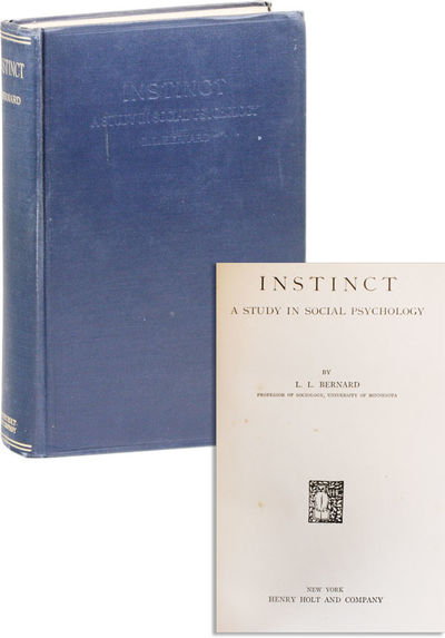 New York: Henry Holt, 1924. First Edition. First printing. Octavo (23cm); cloth boards; 550pp. Tight...