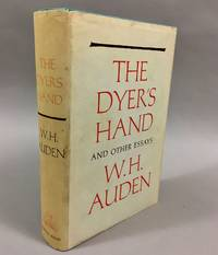 image of The Dyer's Hand, and Other Essays
