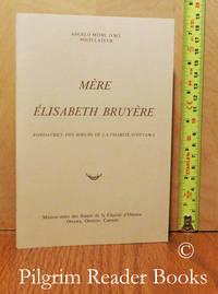 image of Mère Élisabeth Bruyère, Fondatrice des Soeurs de la Charité d'Ottawa.