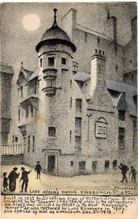 Original 1915 Postcard of Lady Stair\'s House, Edinburgh by R. P. Phillimore