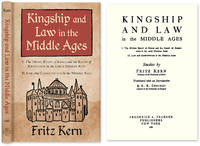 Kingship and Law in the Middle Ages: I. The Divine Right of Kings..