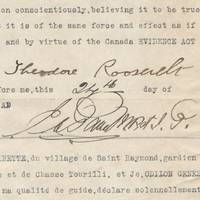 Theodore Roosevelt's Description of His Last Big Game Hunt: A Bull Moose The most evocative and complete description of a hunt by Roosevelt to reach the market.