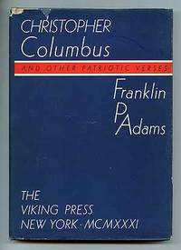 New York: Viking Press, 1931. Hardcover. Fine/Very Good. First edition. Slight bump to the foredge, ...