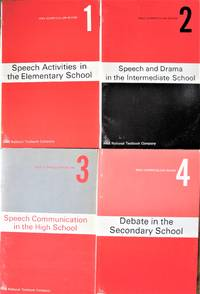 image of The Michigan Speech Association Curriculum Guide Series. Four Volumes. Includes: 1. Speech Activities in the Elementary School. 2. Speech and Drama in the Intermediate School. 3. Speech Communication in the High School. 4. Debate in the Secondary High.