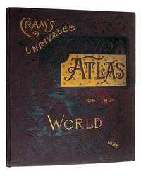 Cram's Unrivaled Atlas of the World. Indexed