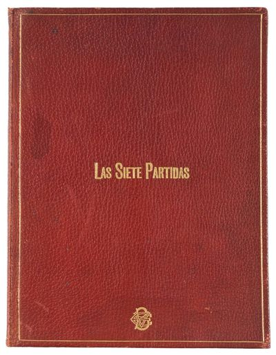 1984. Presentation Copy of a Section of Scott's Landmark Translation of Las Siete Partidas . . .