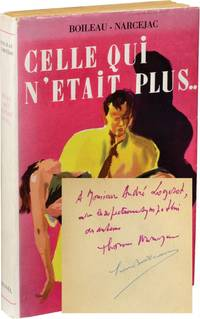 Celle Qui N'Etait Plus [Diabolique] (First French Edition, Review Copy, Signed by Boileau and Narcejac)