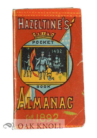 Warren, PA: E.T. Hazeltine, 1891. original self paper wrappers. Miniature Book. miniature book (5.0 ...