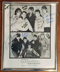 The Fabulous Dyketones 50\'s Rock & Role Band [signed 8x10 b&w publicity photo]