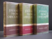 Journey from Obscurity. Wilfred Owen 1893 - 1918. Memoirs of the Owen Family. : 1. Childhood; 2. Youth; 3. War Complete (Complete 3 volume set)