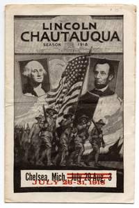 Lincoln Chautauqua program, 1918
