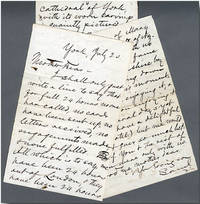 "[Autograph Letter, Signed (""Samuel""), to His Mother-in-Law]"