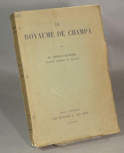 Paris & Bruxelles: Librairie Nationale d'Art et d'Histoire, G. Vanoest, Éditeur, 1928. Large 8vo,...