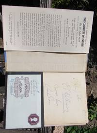 The Conquest Of Everest -- SIGNED By Ed Hillary, Charles Evans, George Lowe + Insert Signed By TENZING & By HUNT