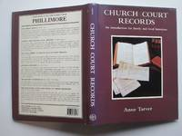 image of Church court records: an introduction for family and local historians