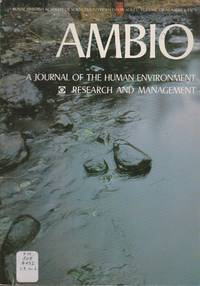 Ambio: A Journal of the Human Environment Research and Management, Volume VIII Number 6 1979
