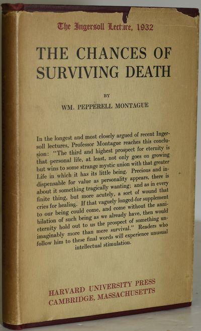 Cambridge: Harvard University Press, 1934. Hard Cover. Very Good binding/Good dust jacket. William P...