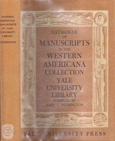 New Haven: Yale University Press, 1952. First Edition. Hardcover. Near fine/near fine. Quarto. , x, ...