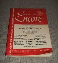 The Magazine Encore for February 1942