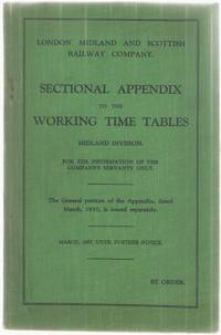 Sectional Appendix to the Working Time Tables Midland Division March, 1937, until further notice