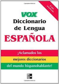 image of Vox Diccionario de Lengua Española (VOX Dictionary Series)