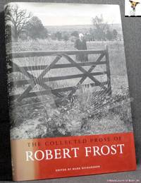 image of The Collected Prose of Robert Frost