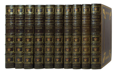 The Emerson Edition MONTAIGNE, Michel de. The Works of Michel de Montaigne. With notes, life and let...