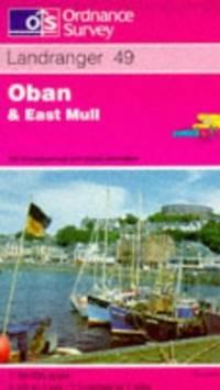 image of Oban and East Mull (Landranger Maps)