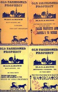 image of Old-Fashioned Prophecy Magazine, Collection of 4 Assorted Double Issues.