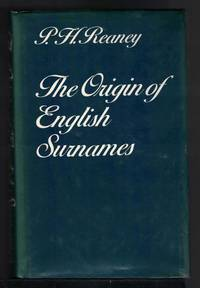 image of THE ORIGIN OF ENGLISH SURNAMES