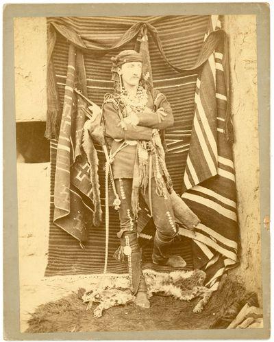 Photograph of Frank Hamilton Cushing...