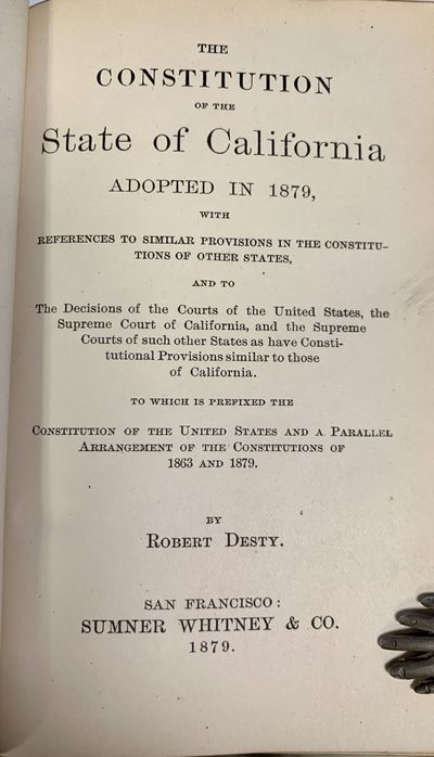 The CONSTITUTION Of The STATE Of...