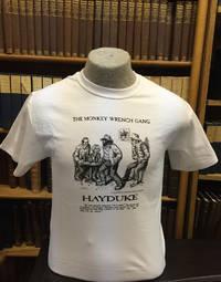 Hayduke I'm a Hippie! T-Shirt - White (S); The Monkey Wrench Gang T-Shirt Series
