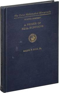image of A Primer of Real Functions (Hardcover)