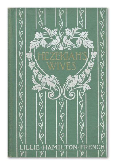 Boston: Houghton Mifflin, 1902. Pale green cloth, elaborately decorated in white, lettered in gilt. ...